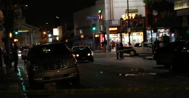 Shooting Shuts Down Parts of Hollywood