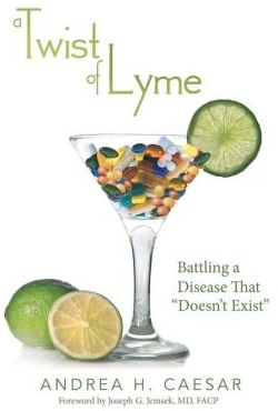 Andrea Caesar: On Her Battle With Lyme Disease and her Book A Twist of Lyme (Interview)