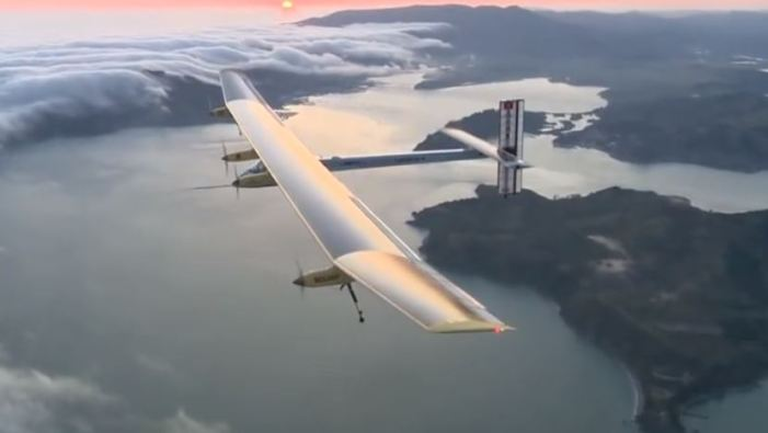 Solar Powered Aircraft to Attempt Round the World Flight