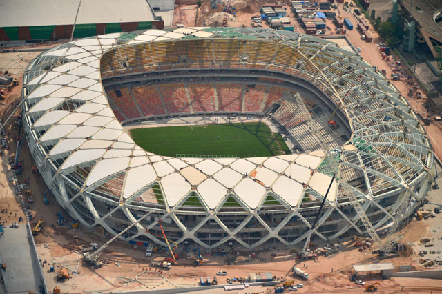 FIFA World Cup Stadiums in Question