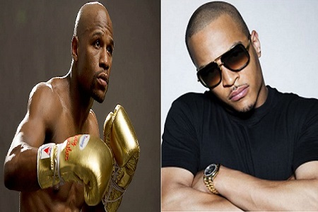 Floyd Mayweather and T.I. Harris Engage in Physical Brawl [Video]