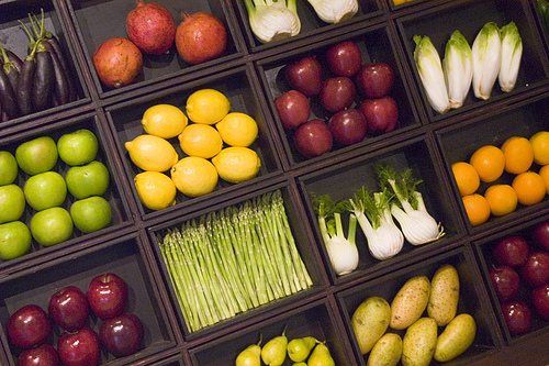 Food Prepared With Vegetables and Fruits Stands Top for Good Health