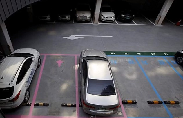 South Korea Creates Pink Parking Spaces for Women Only