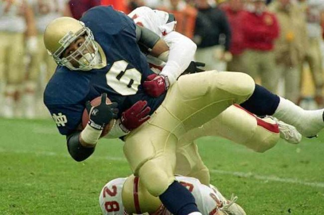 Jerome Bettis Says Notre Dame Tradition Is a Crutch