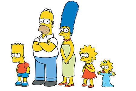 'The Simpsons' Squared
