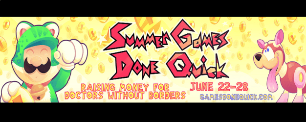 Summer Games Done Quick June 22 - June 28