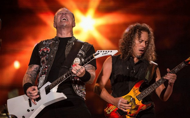 Metallica Proves Heavy Metal Has Place at Glastonbury