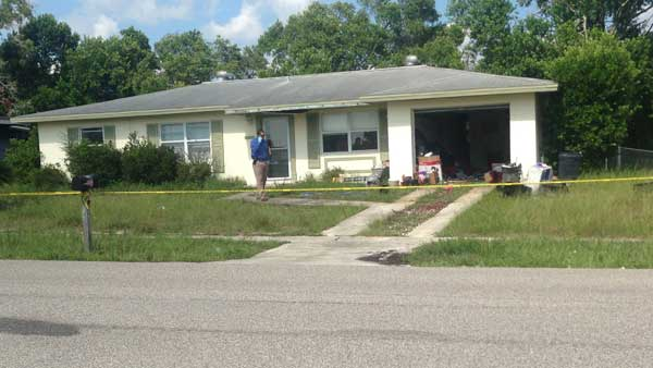 Two Florida Men Discover Mannequin in Garage but Is Really Dead Body