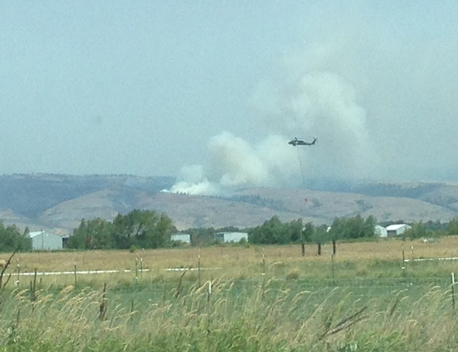 Snag Canyon Fire: Officials Provide Progress Report at Committee Meeting
