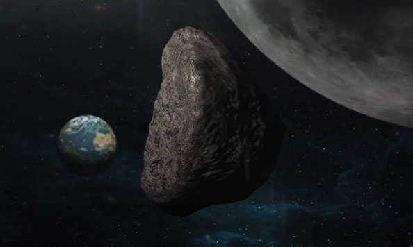 Earth About to Have Another Nearby Asteroid Encounter