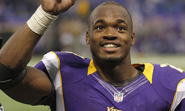 Adrian Peterson: Pro Football Star Charged for Spanking One of His Sons