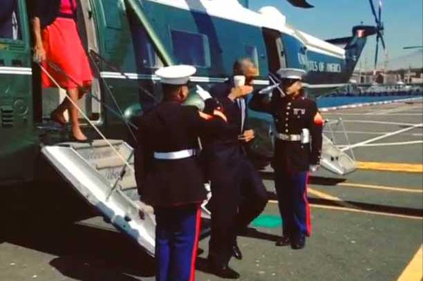 Focus on the Record and Not the Salute