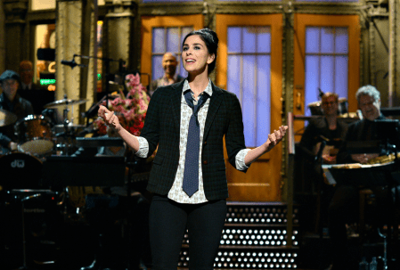 Sarah Silverman Hosts SNL and Pays Tribute to Hero Joan Rivers