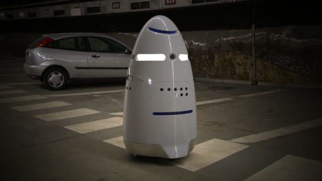 Security Robots  Patrolling Silicon Valley, but No Robocop Yet