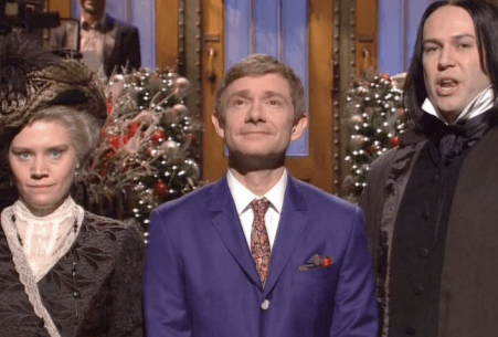 Saturday Night Live: Did Martin Freeman Hobbit Down as Host? (Review)