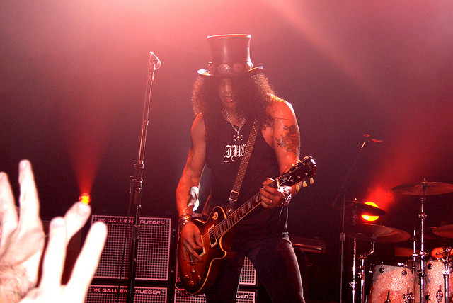 Slash Files for Divorce From Wife of 13 Years