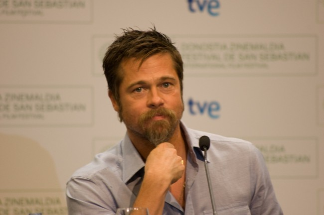Brad Pitt Showed He Can Carry a Tune at 2015 Film Festival