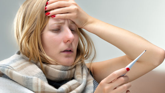 Adults Are More Flu Less Than They Think