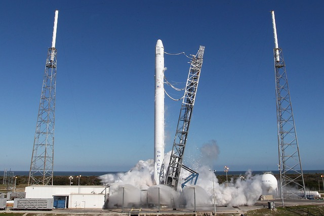 SpaceX Capsule Destined for International Space Station Erupts on Take Off