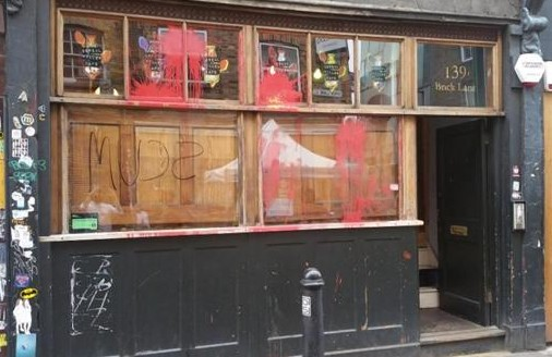 Anarchists Fight Hipsters Over London's East End