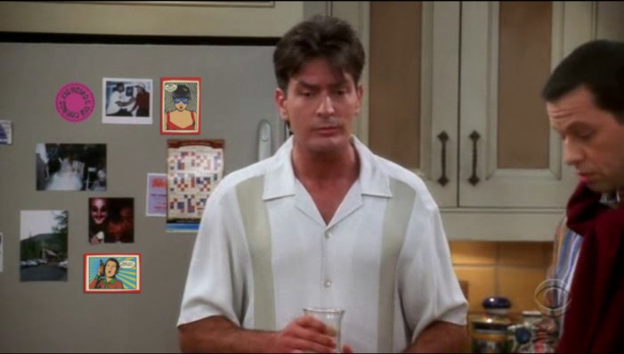 Charlie Sheen Comes Out of the 'Pharmaceutical' Closet