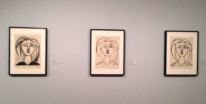 Picasso States of Lithographs at Norton Simon
