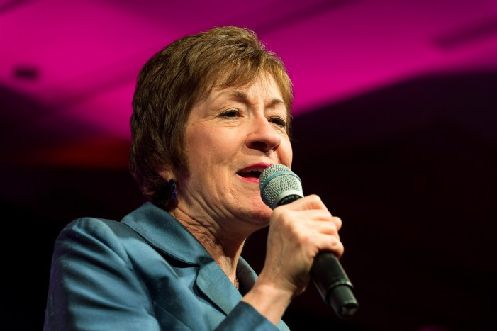 Senator Susan Collins Receives Threats of Death and to Have Her Honorary Degree Rescinded