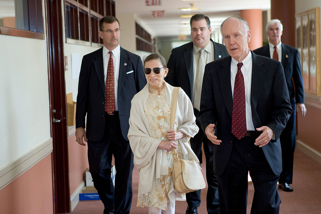 Ruth Bader Ginsburg 'the Notorious RBG' Returns to Work