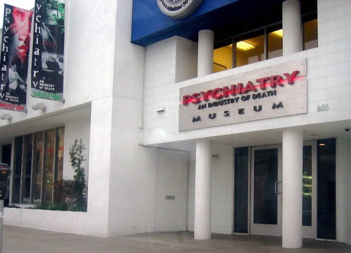 Scientology Museum Blames Psychiatry for 9/11 and the Holocaust