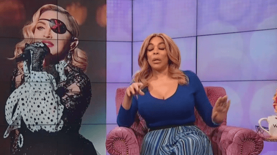 Wendy Williams Says Madonna Moves Like an Old Lady After Performance