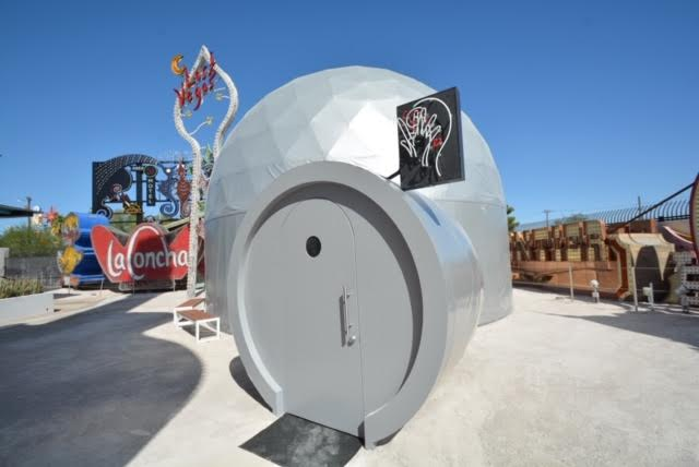 """Lost Vegas: Tim Burton at Neon Museum"""