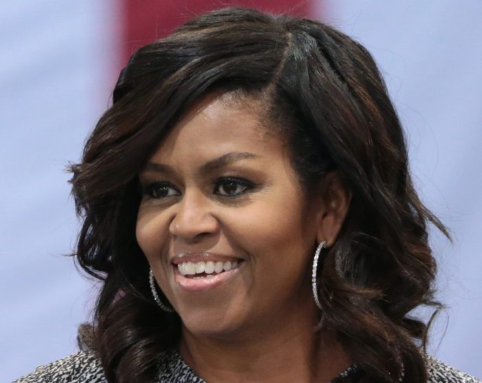 "Michelle Obama Call To Action ""Vote for Biden Like Your Life Depends on It"" [Video]"