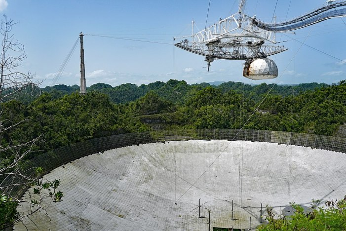 Arecibo Observatory Collapses in Puerto Rico