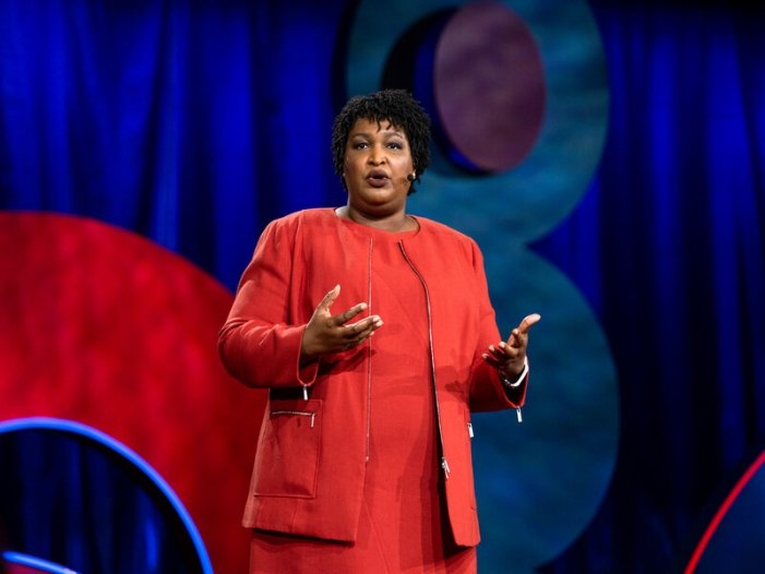 Stacey Abrams 'Voting Rights Advocate' a Nobel Peace Prize Nominee