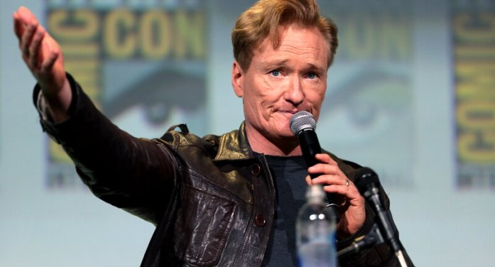 Conan O'Brien Smokes a Joint With Seth Rogan Live on Show [Video]