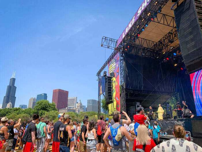 Lollapalooza's Set to Return Just in Time for COVID Cases to Rise