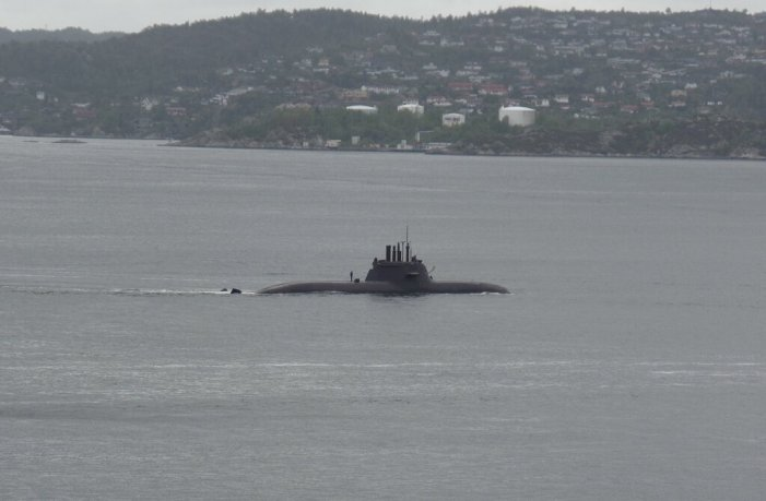 Chinese Submarine Suspected Off the Coast of Japan