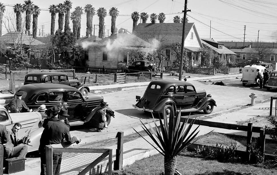 What's in a Picture: 1938 LAPD Shootout