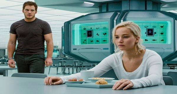 Bloopers de Passengers con Jennifer Lawrence y Chris Pratt.