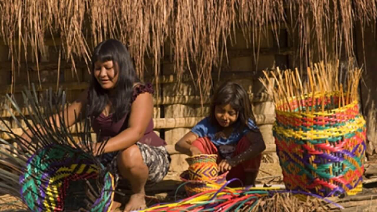 Aldeia Guarani SP Tupi-Guarani Língua Portuguesa