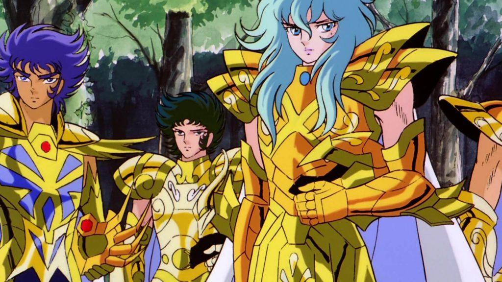 A Lenda dos Defensores de Atena Ouro 01