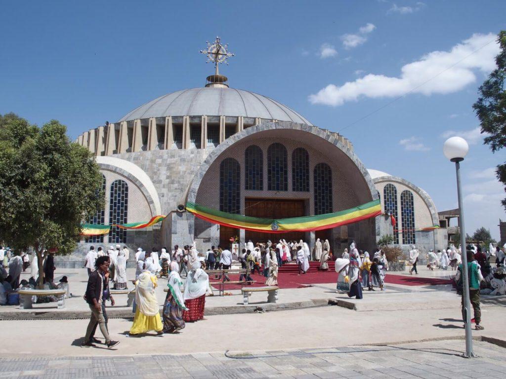 Igreja de Santa Maria de Sião Axum Etiópia 01