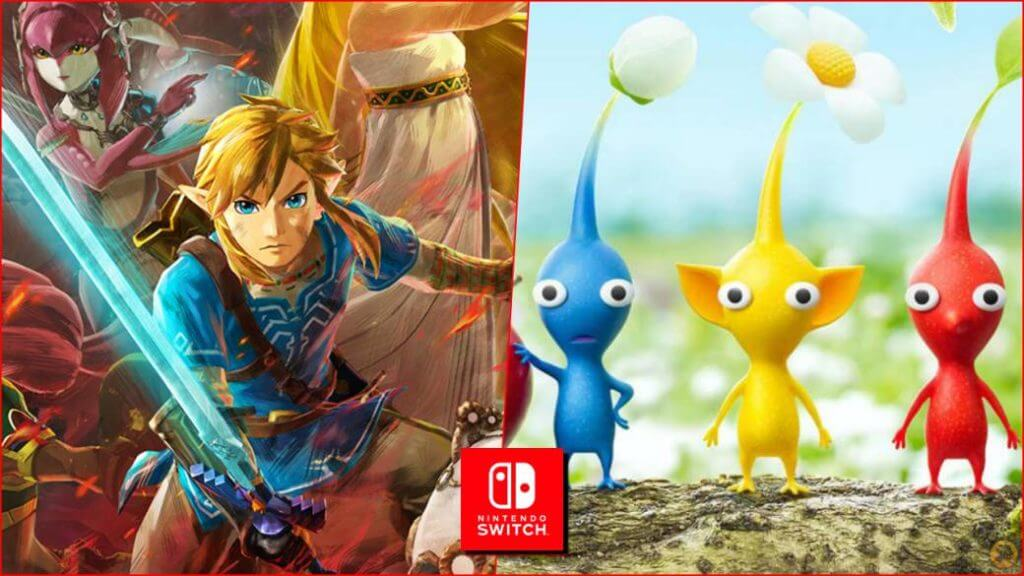 Hyrule Warriors Pikmin 3