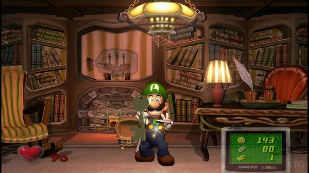 Luigi's Mansion Nintendo Game Cube 001