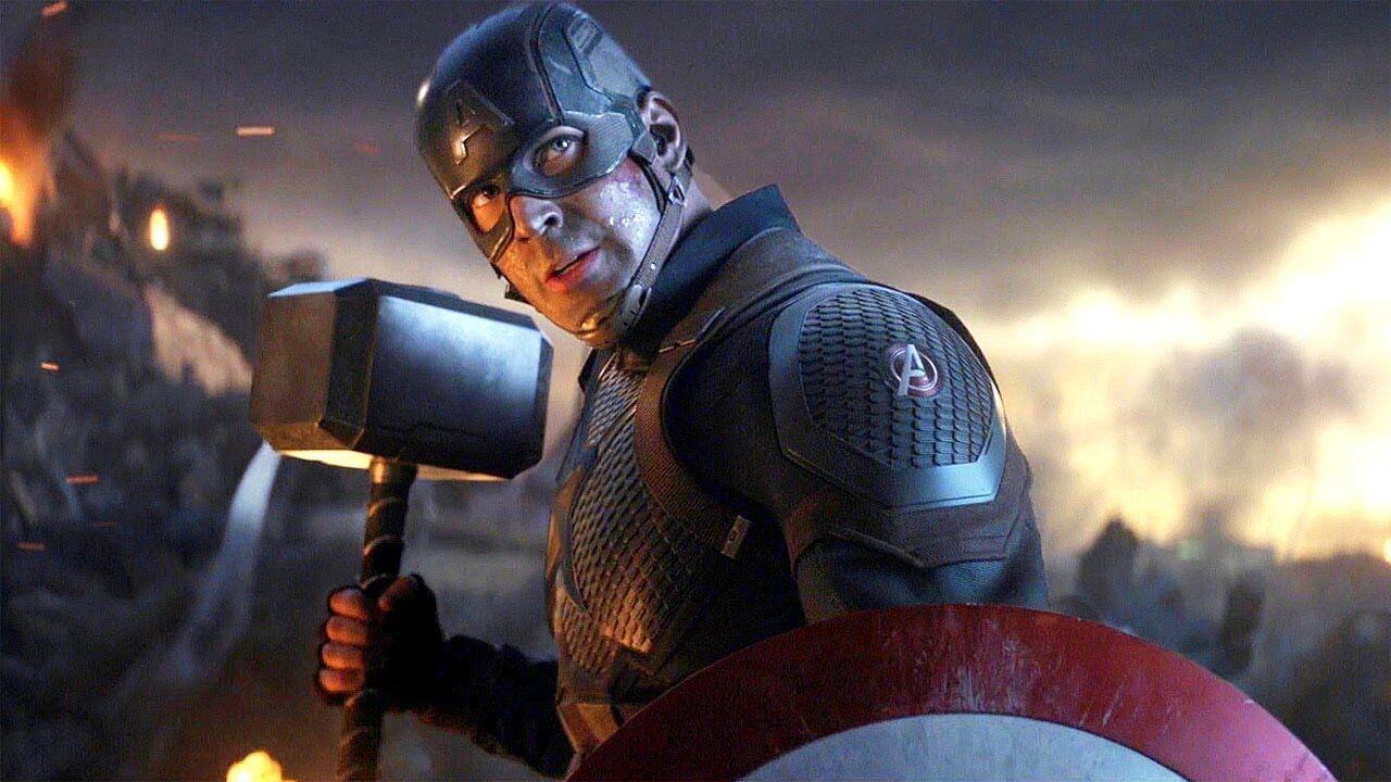 Vingadores Ultimato Especial Cena Filme Capitao America Mjolnir