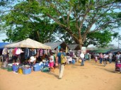 Sunday market in San Ignacio