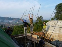 forming the roof