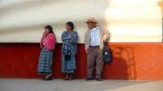 three waiting in Uspantan