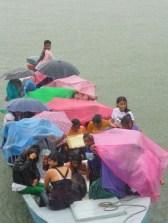 girls in the rain