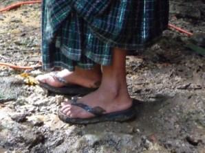 Guatemalan construction boots